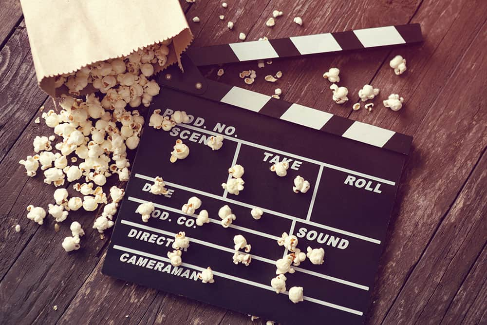 Film - Klappe - Popcorn