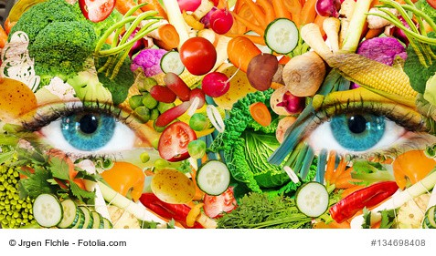 Gemüse, Augen