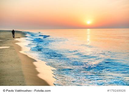 Strand, Sonne, Meer