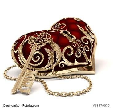 Schlüssel und Herz