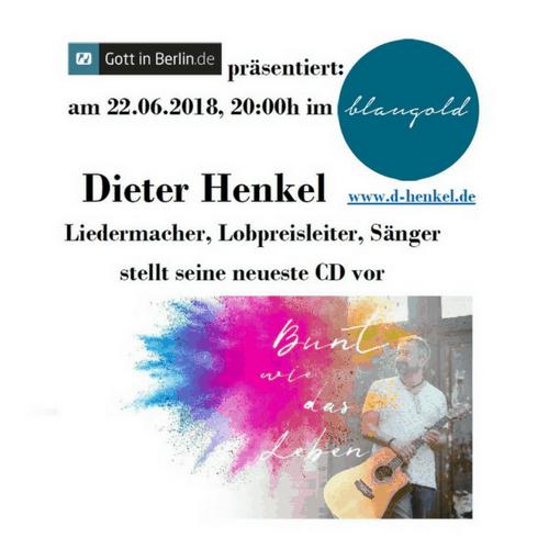 Liedermacher Dieter Henkel