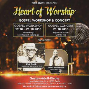 Konzert Heart of Worship