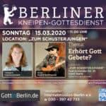 Livestream | BERLINER KNEIPENGOTTESDIENST