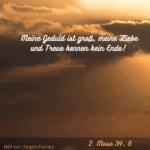 Gott ist treu, auch wenn wir es nicht sind!