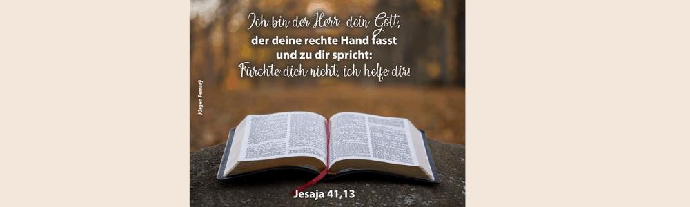 aufgeschlagenes Buch - die Bibel