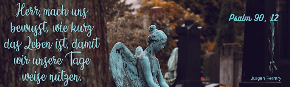 Friedhof - Engelstatue