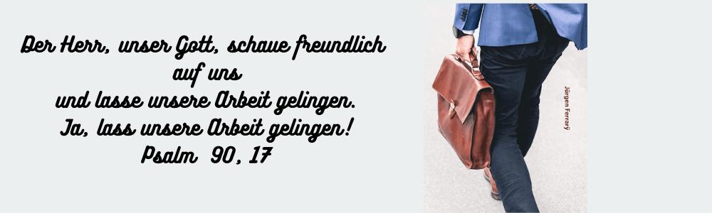 Mann geht mit seiner Aktentasche