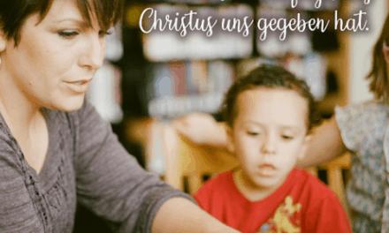 Sind Eltern gute Vorbilder? – Sei gute!