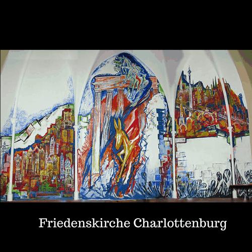 Wandbild Friedenskirche Charlottenburg