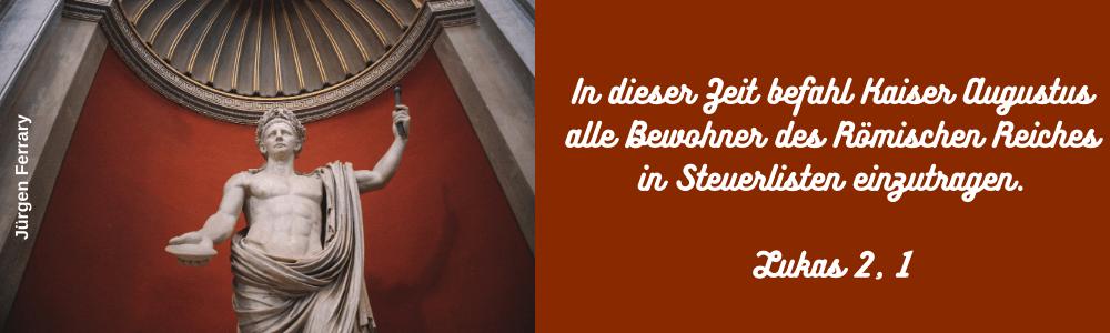Statue Kaiser Augustus