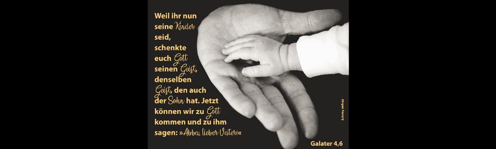 Kinderhand in Vaterhand