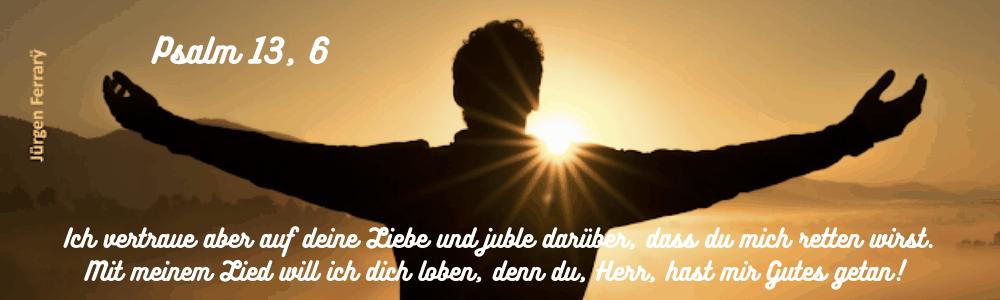 Mann im Sonnenlicht
