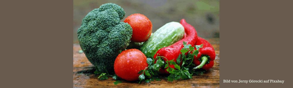 Gemüse - Tomaten, Brokoli, Zuchini - Paprika