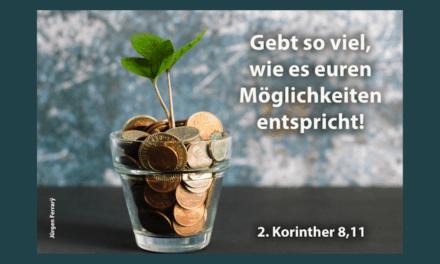 Es geht um dein Geld …