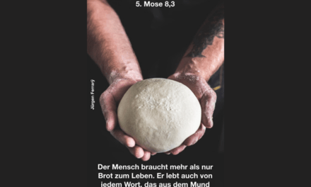 """""""Nimm dir Zeit zum Bibel-Lesen und beten!"""""""
