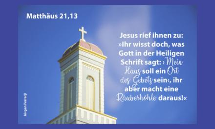 Wo Jesus drauf steht, muss auch Jesus drin sein