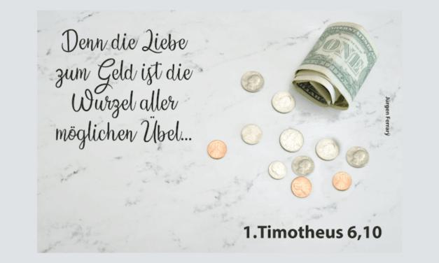 Darf ein Christ reich sein? – Teil 1