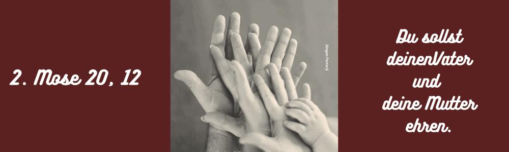 aufeinandergelegte Hände