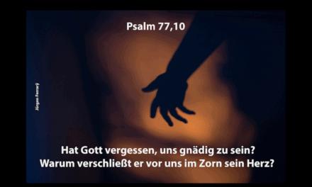 Warum nimmt mir Gott meine Angst nicht weg?