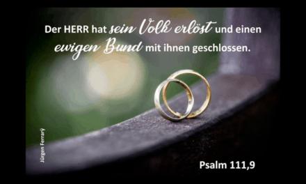 Was nun Gott zusammengefügt hat …