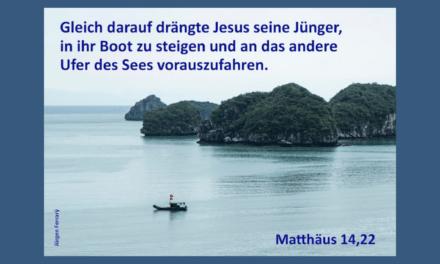 Wenn du das Gefühl hast, Jesus dreht dir den Rücken zu