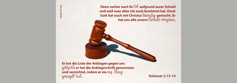 Hammer vom Richter