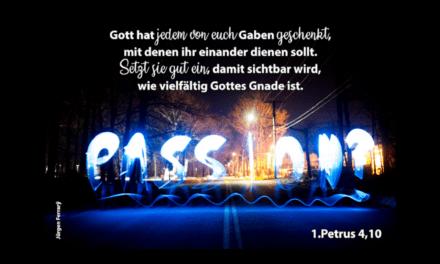 Lebe deine Passion