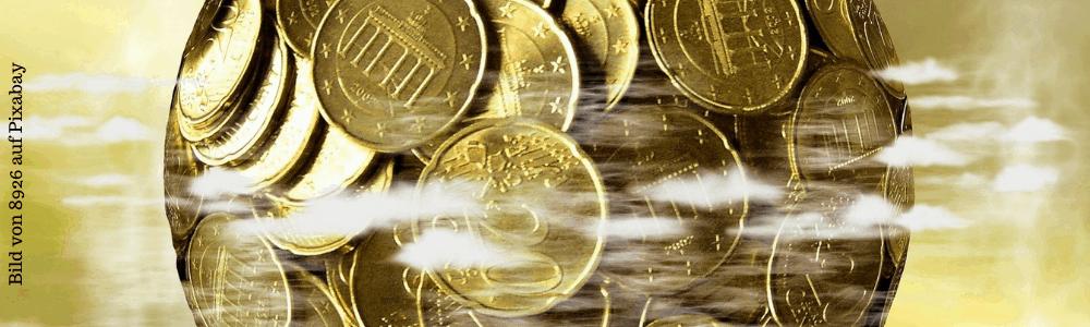 viele Euro Münezn
