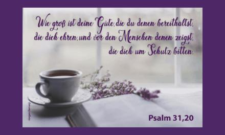 Beginne deinen Tag mit Gott
