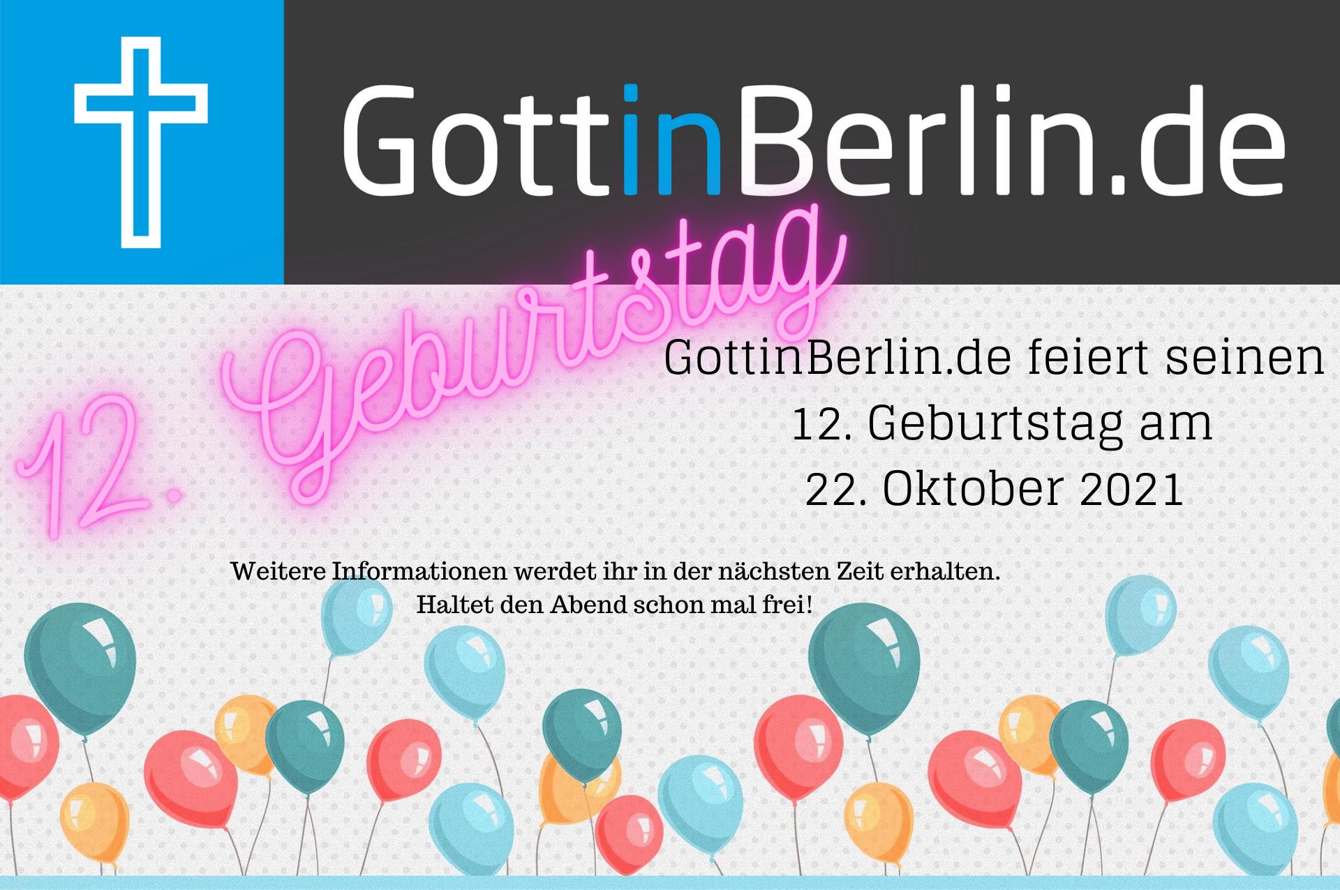Einladung zum Geburtstag mit Luftballons
